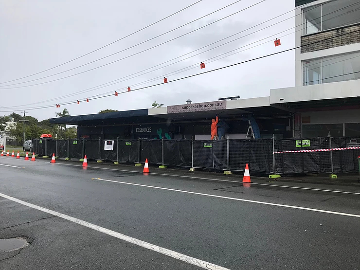Asbestos Lined Shop Awnings a Ticking Time Bomb