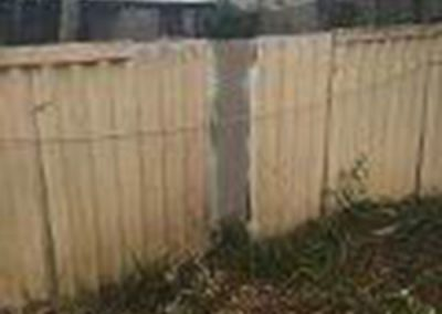 Brokenfence 400x284 - Asbestos Fence Removal