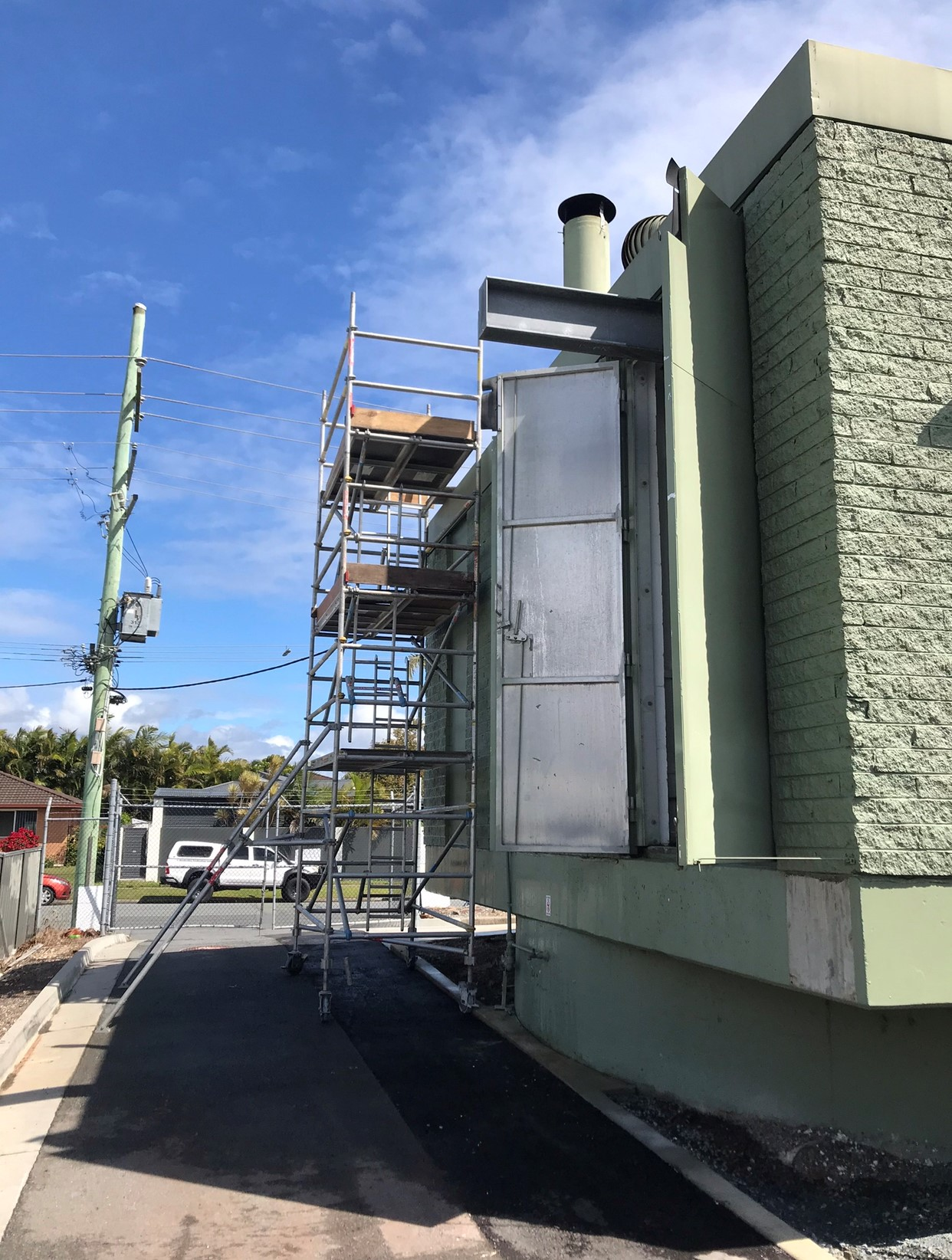 Project Photo Asbestos Removal 04 - Coastal Asbestos are proud winners of the Master Builders Award for 2020 Excellence in Workplace Health & Safety Award