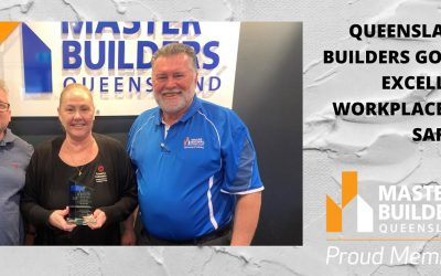 Coastal Asbestos are proud winners of the Master Builders Award for 2020 Excellence in Workplace Health & Safety Award