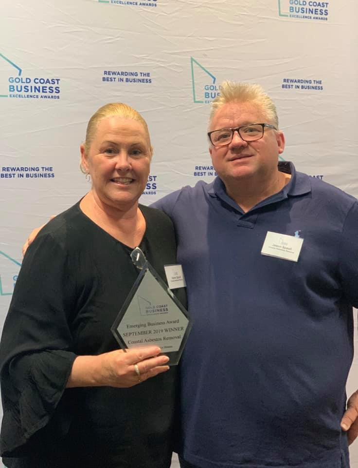 award Karen and Jason - About Us